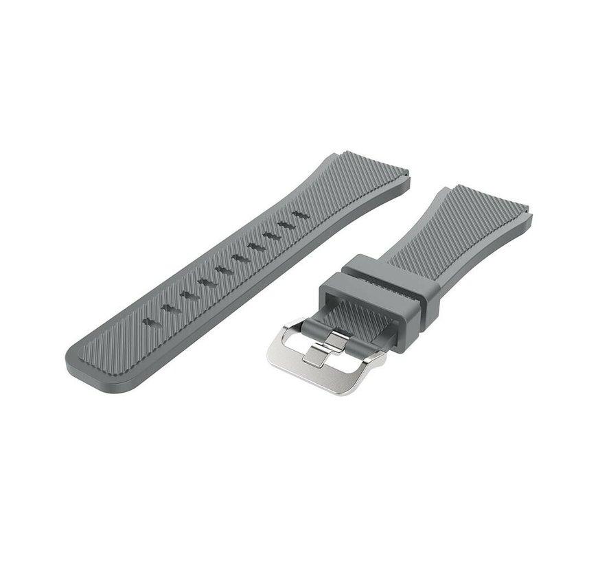 Strap-it® Xiaomi Amazfit GTR silicone band (grijs)
