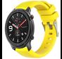 Strap-it® Xiaomi Amazfit GTR silicone band (geel)