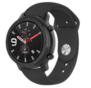 Strap-it® Xiaomi Amazfit GTR sport band (zwart)