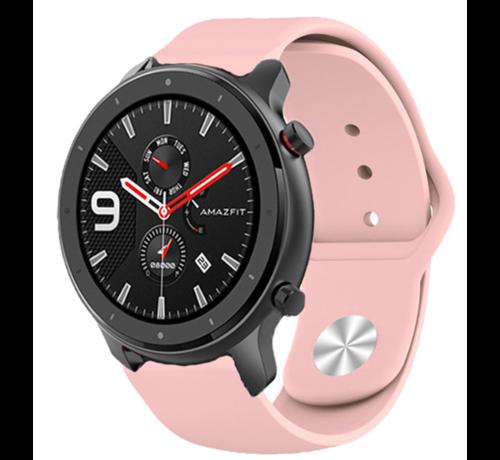Strap-it® Strap-it® Xiaomi Amazfit GTR sport band (roze)