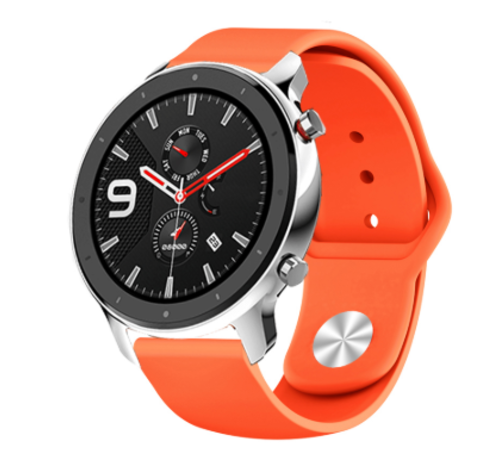 Strap-it® Strap-it® Xiaomi Amazfit GTR sport band (oranje)