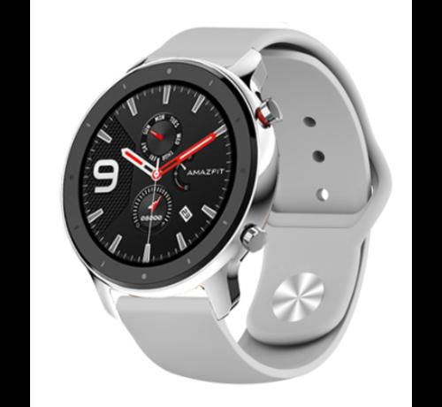 Strap-it® Strap-it® Xiaomi Amazfit GTR sport band (grijs)