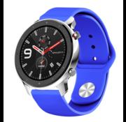 Strap-it® Xiaomi Amazfit GTR sport band (blauw)