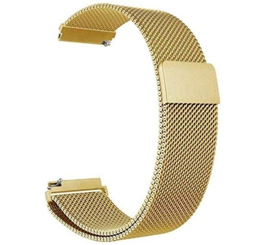 Strap-it® Xiaomi Amazfit Bip Milanese band (goud)