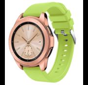 Samsung Galaxy Watch siliconen bandje 41mm / 42mm (lichtgroen)