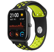 Xiaomi Amazfit GTS sport band (zwart/geel)