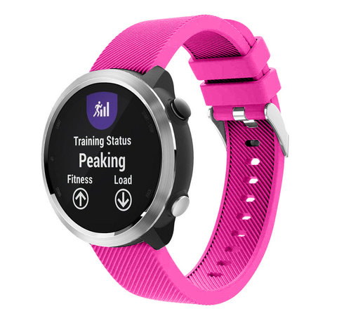Strap-it® Strap-it® Garmin Vivoactive 4 silicone band - 45mm - knalroze