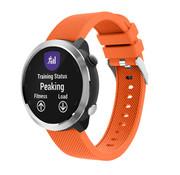 Strap-it® Garmin Vivoactive 4 silicone band - 45mm - oranje