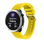 Strap-it® Garmin Vivoactive 4 silicone band - 45mm - geel