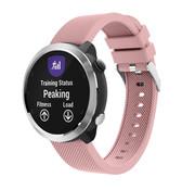 Strap-it® Garmin Vivoactive 4 silicone band - 45mm - roze