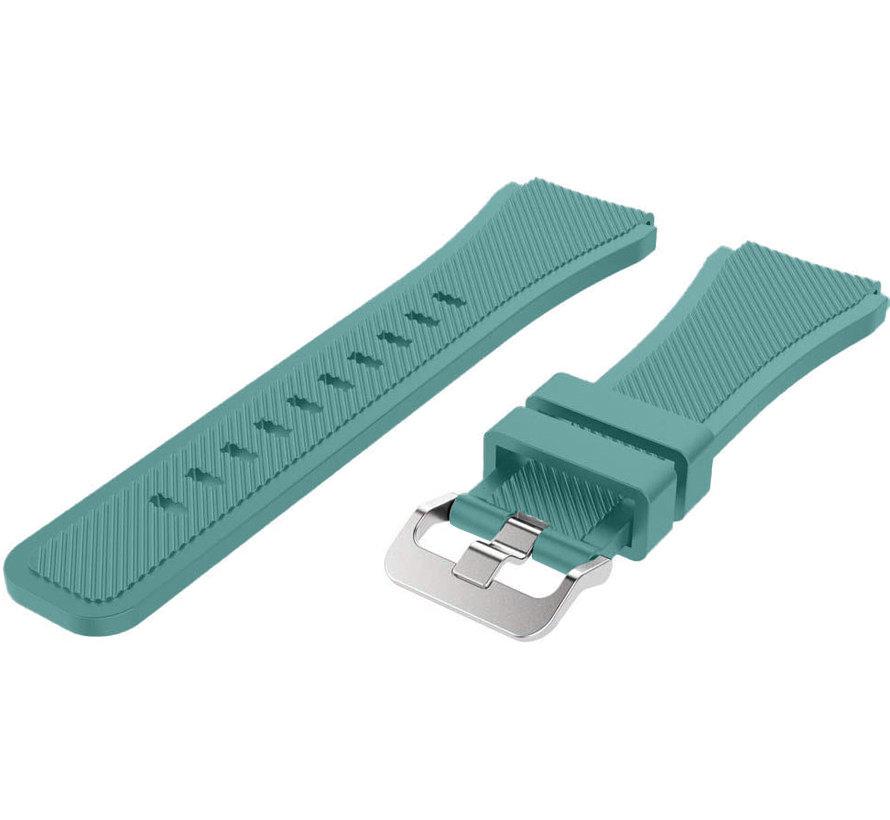 Strap-it® Huawei Watch GT siliconen bandje (dennengroen)