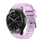 Samsung Galaxy Watch siliconen bandje 45mm / 46mm (lila)