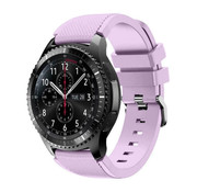 Strap-it® Samsung Galaxy Watch siliconen bandje 45mm / 46mm (lila)