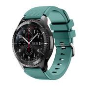 Samsung Galaxy Watch siliconen bandje 45mm / 46mm (dennengroen)