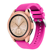 Strap-it® Samsung Galaxy Watch siliconen bandje 41mm / 42mm (knalroze)