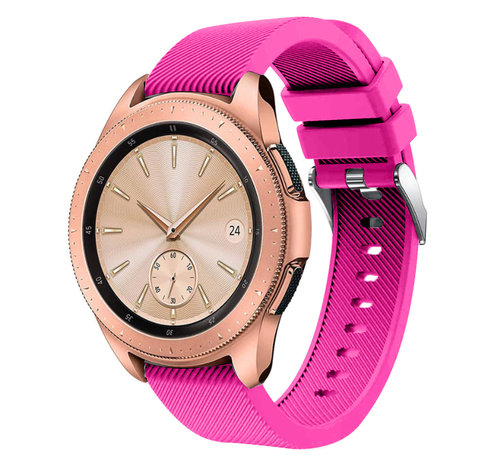 Strap-it® Strap-it® Samsung Galaxy Watch siliconen bandje 41mm / 42mm (knalroze)