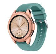 Samsung Galaxy Watch siliconen bandje 41mm /  42mm (dennengroen)