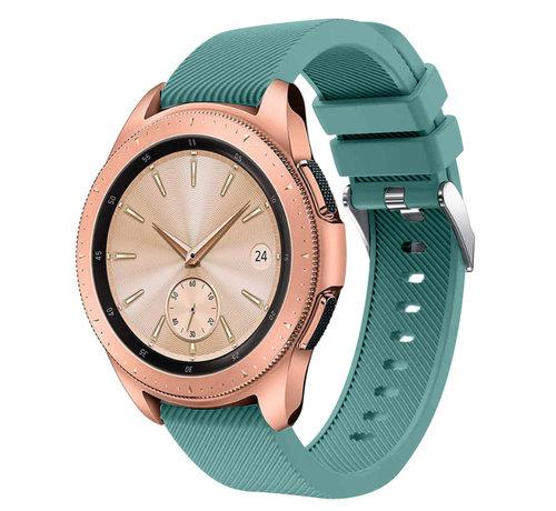 Strap-it® Strap-it® Samsung Galaxy Watch siliconen bandje 41mm / 42mm (dennengroen)