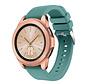 Strap-it® Samsung Galaxy Watch siliconen bandje 41mm / 42mm (dennengroen)