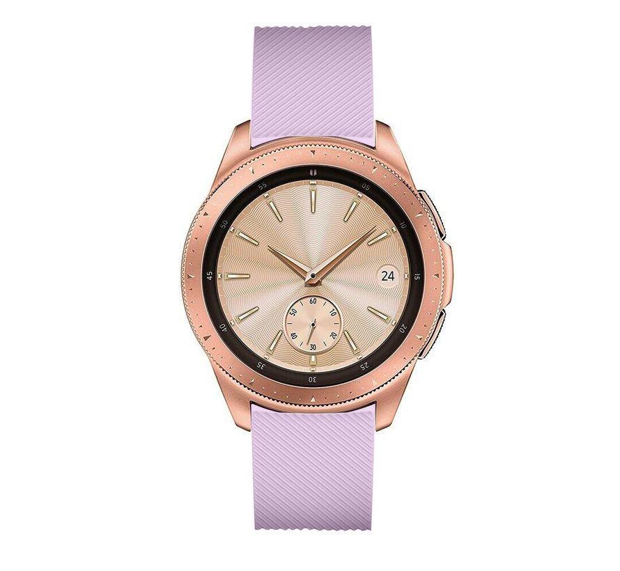 Strap-it® Samsung Galaxy Watch siliconen bandje 41mm / 42mm (lila)