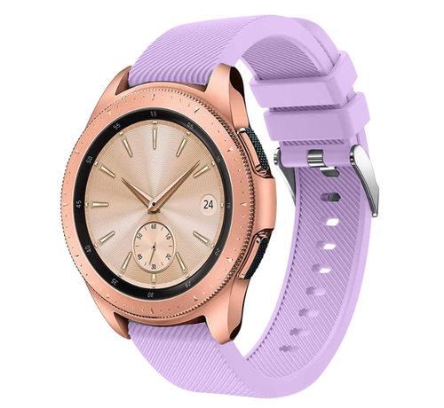 Strap-it® Strap-it® Samsung Galaxy Watch siliconen bandje 41mm / 42mm (lila)