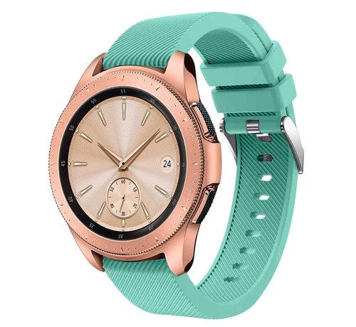 Strap-it® Strap-it® Samsung Galaxy Watch siliconen bandje 41mm / 42mm (aqua)
