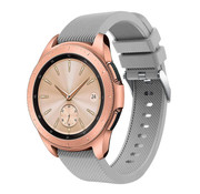 Samsung Galaxy Watch siliconen bandje 41mm / 42mm (grijs)