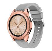 Strap-it® Samsung Galaxy Watch siliconen bandje 41mm / 42mm (grijs)