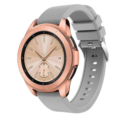 Strap-it® Strap-it® Samsung Galaxy Watch siliconen bandje 41mm / 42mm (grijs)