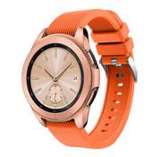 Samsung Galaxy Watch siliconen bandje 41mm / 42mm (oranje)