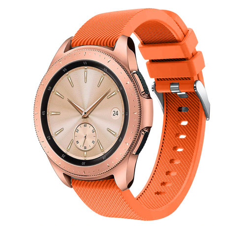 Strap-it® Strap-it® Samsung Galaxy Watch siliconen bandje 41mm / 42mm (oranje)