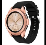 Strap-it® Samsung Galaxy Watch siliconen bandje 41mm / 42mm (zwart)