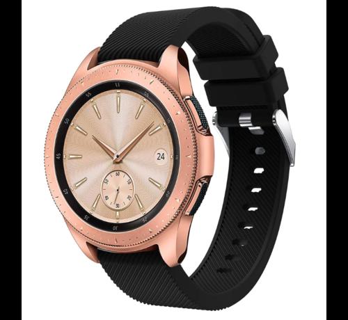 Strap-it® Strap-it® Samsung Galaxy Watch siliconen bandje 41mm / 42mm (zwart)