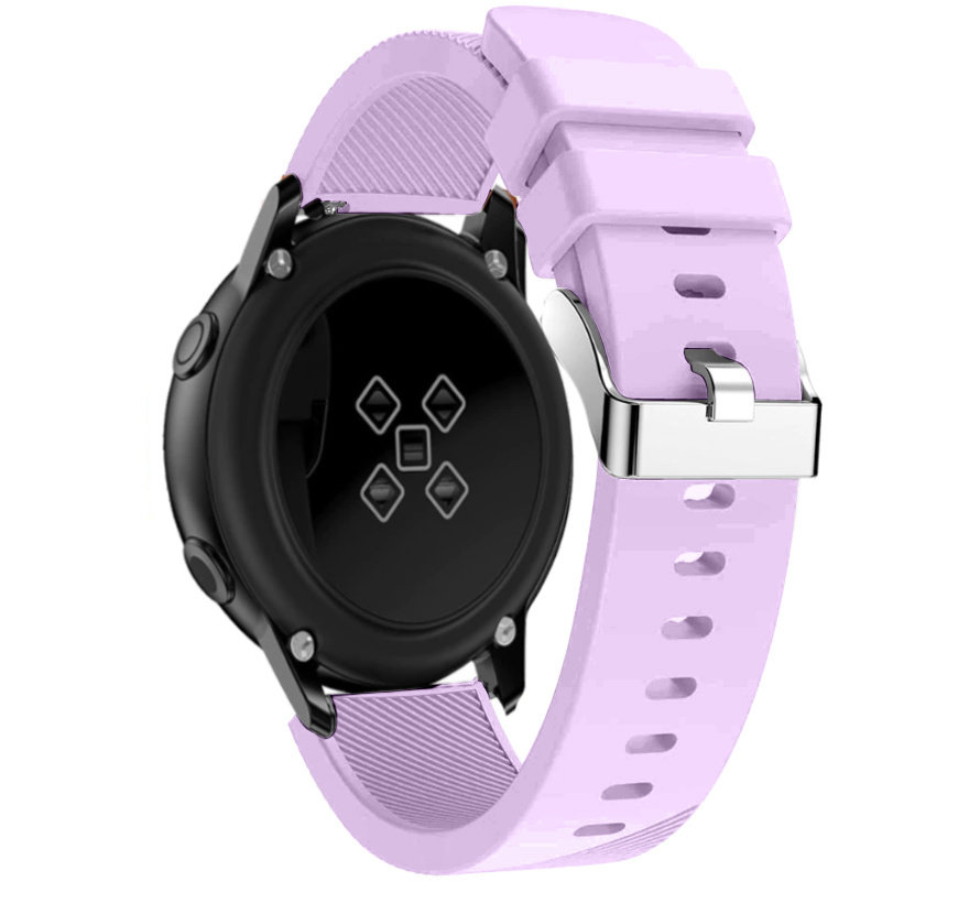 Strap-it® Samsung Galaxy Watch Active silicone band (lila)