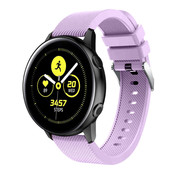 Samsung Galaxy Watch Active silicone band (lila)