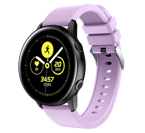 Strap-it® Strap-it® Samsung Galaxy Watch Active silicone band (lila)