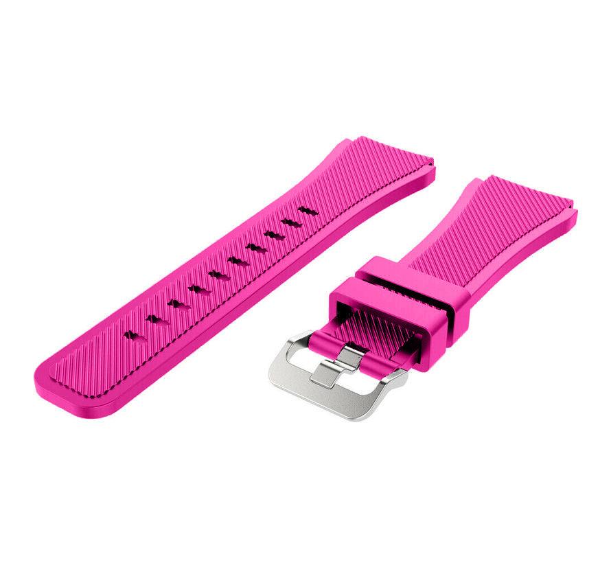 Strap-it® Xiaomi Amazfit Bip silicone band (knalroze)