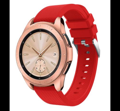 Strap-it® Strap-it® Samsung Galaxy Watch siliconen bandje 41mm / 42mm (rood)
