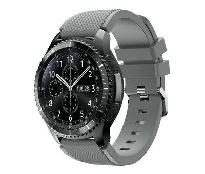 Strap-it® Strap-it® Samsung Galaxy Watch siliconen bandje 45mm / 46mm (grijs)