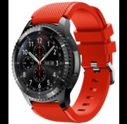 Strap-it® Samsung Galaxy Watch siliconen bandje 45mm / 46mm (rood)