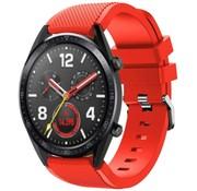 Strap-it® Huawei Watch GT siliconen bandje (rood)