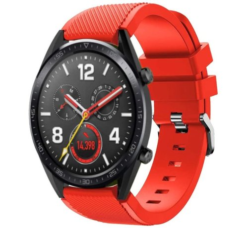 Huawei Watch GT siliconen bandje (rood)