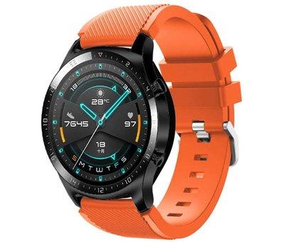 Strap-it® Strap-it® Huawei Watch GT siliconen bandje (oranje)