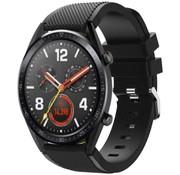 Strap-it® Huawei Watch GT siliconen bandje (zwart)
