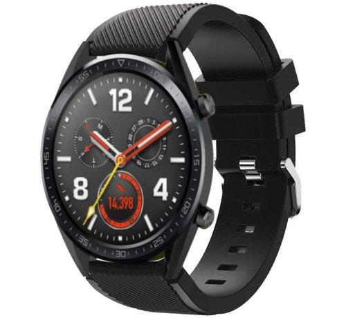 Huawei Watch GT siliconen bandje  (zwart)