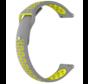 Garmin Vivoactive 4 sport band - 45mm - grijs/geel