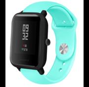 Strap-it® Xiaomi Amazfit Bip sport band (aqua)