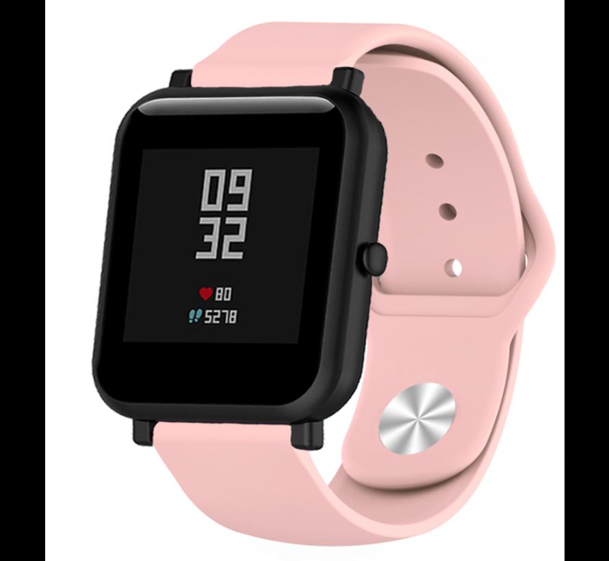 Strap-it® Xiaomi Amazfit Bip sport band (roze)