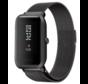 Strap-it® Xiaomi Amazfit Bip Milanese band (zwart)