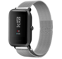 Strap-it® Xiaomi Amazfit Bip Milanese band (zilver)